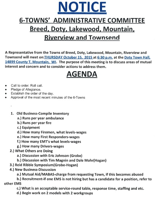 7-TB Admin Comm Agenda October 15, 2015