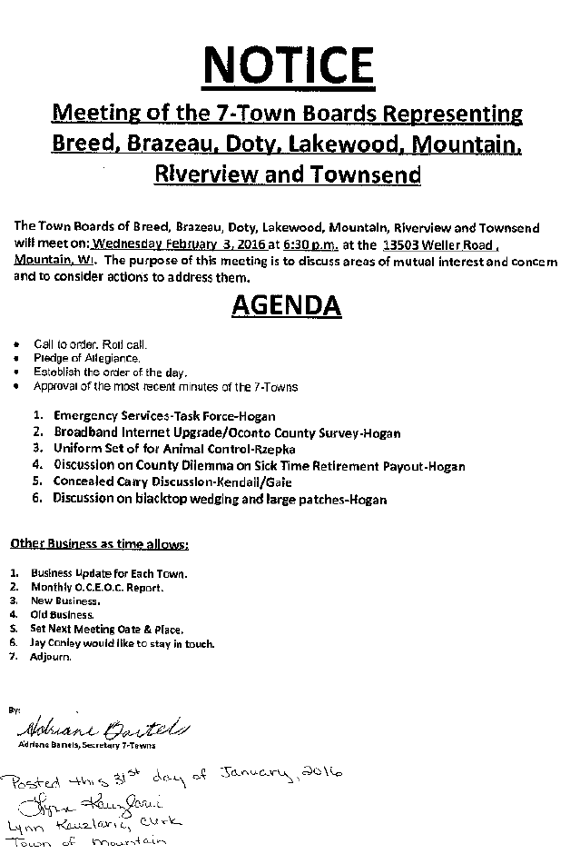7 TB Meeting Agenda Feb 3, 2016